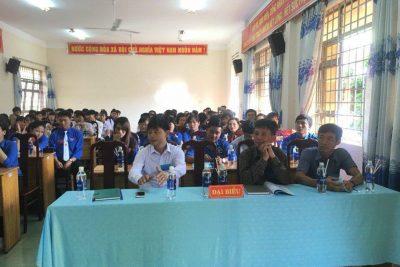 Hình ảnh Đại Hội Đoàn Trường THPT Trường Chinh 2017-2018