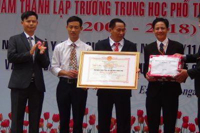 Hình Ảnh Lễ Kỷ Niệm 36 Năm Ngày Nhà Giáo Việt Nam, 10 Năm Thành Lập Và Đón Nhận Bằng Công Nhận Trường THPT Trường Chinh Đạt Chuẩn Quốc Gia