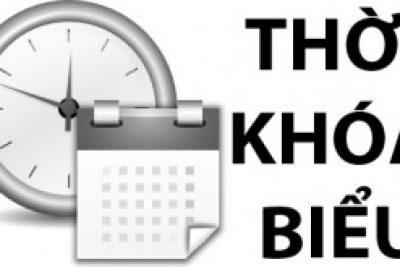 TKB TUẦN 6 NĂM HỌC 2020-2021[Điều chỉnh]